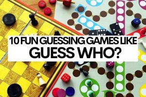 8 Fun Guessing Games like Guess Who?